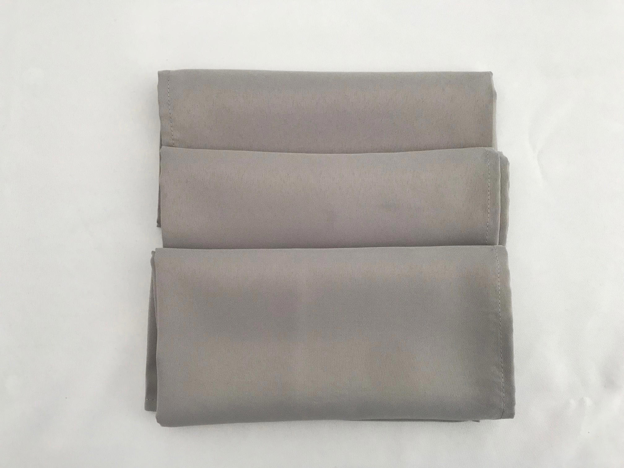 Grey napkin £1 00